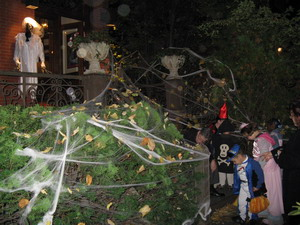 Хэллоуин. Паутина