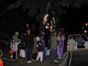 Хэллоуин. Паук на голову.